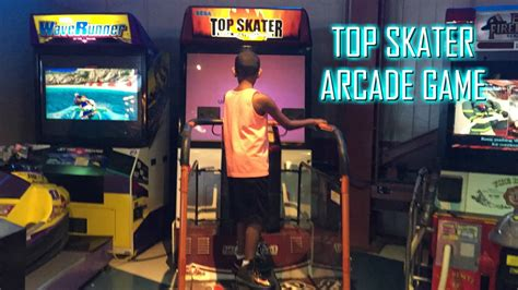 best skater sega top skater arcade skateboard