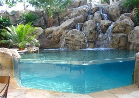 Backyard Pools Tv Show 25 Best Ideas About Cascata Piscina On