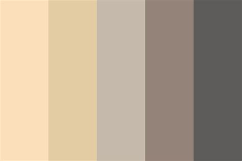 what are colors chagne color palette