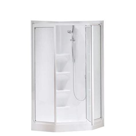 acrylic showers maax allia 1 piece acrylic shower wseat keystone by maax boreal ii 1 piece white acrylic neo angle