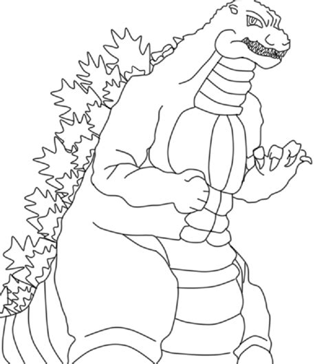 godzilla coloring book pages godzilla coloring pages to print free loving printable