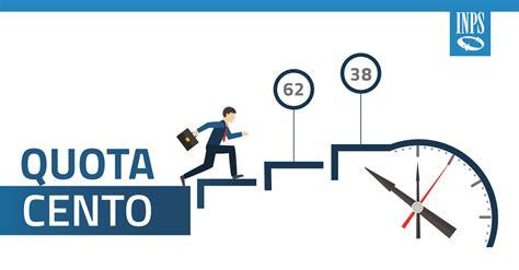 pensioni quota 100 messaggio inps su presentazione della