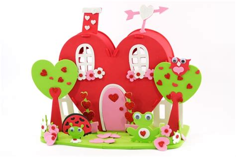 heartbeat house pin by carefree crafts on valentine s day crafts for kids pinterest