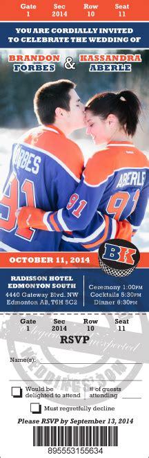 hockey themed birthday ecards hockey ticket invitations sports themed weddings nhl