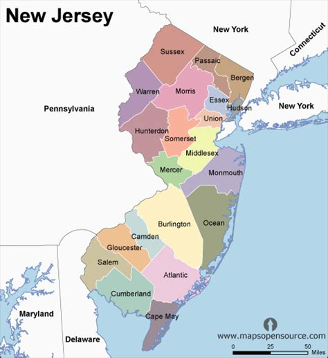 a to z the usa new jersey state flower free new jersey counties map counties map of new jersey