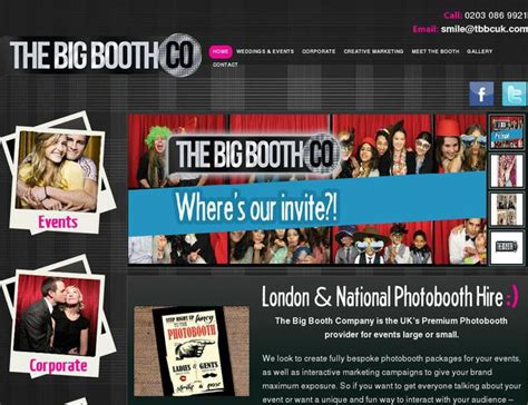 wordpress themes photo booth website tbbcuk com created using wordpress theme the big