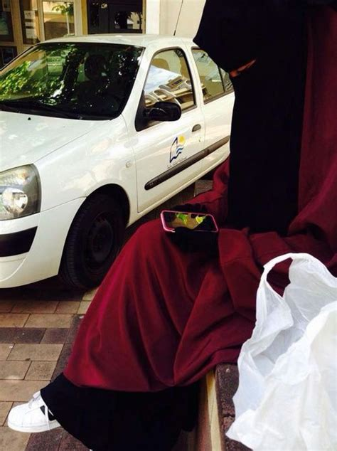 Muslim Maroon maroon jilbab with niqab niqab niqab and