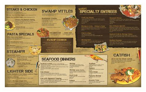 s menu ideas whitey s fish c orange park seafood restaurant fish