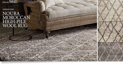 high pile wool rug noura moroccan high pile wool rug restoration hardware