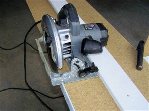 Rip Cut Circular Saw Edge Circular Saw Rip Guide My Version