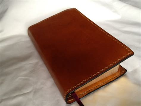 Handcrafted In The Usa - handmade leather bible cover made in the usa