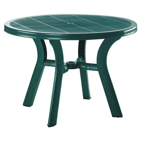 """Compamia Truva 42"""" Resin Round Dining Table FREE SHIPPING"""