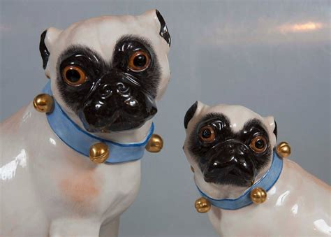 meissen pugs for sale pair of hallmarked meissen pug dogs at 1stdibs