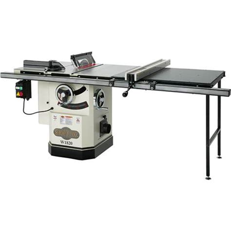 Power Saws Shop Fox 10 Inch 3 Hp Table Saw Riving Knife