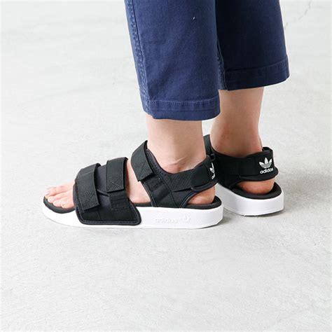 Adidas Adilette Chunky Sandal aranciato rakuten global market adidas originals adidas originals velcro sandal