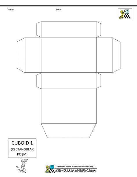 printable 3d net shapes free 3d geometric shapes nets