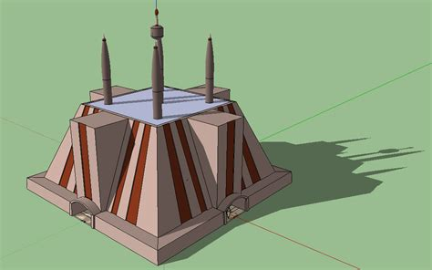 home imagineering jedi temple wip bird view by vdburg on