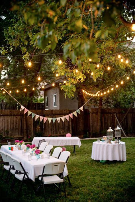 enjoy  year  party   backyard