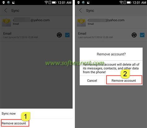 how to delete your yahoo mail account easy delete email account from lenovo phone