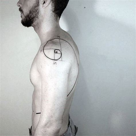 golden spiral tattoo 60 fibonacci designs for spiral ink ideas