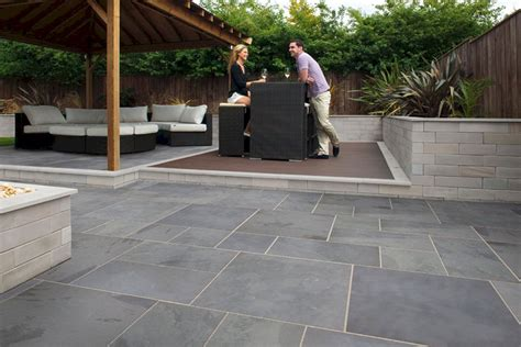 Slate Pavers For Patio Slate Paver Patio Slate Paver Patio Design Ideas And Photos