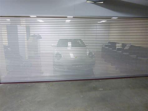 See Through Garage Doors Garage Door Roller Shutters Visionshield Rollashield Revesby Nsw 2212
