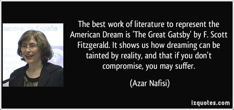 american dream theme great gatsby quotes quotes about great works of literature quotes