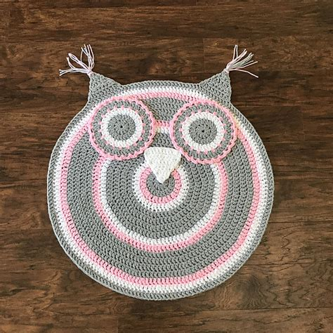 owl nursery rug owl nursery rug crochet pattern allcrochetpatterns net