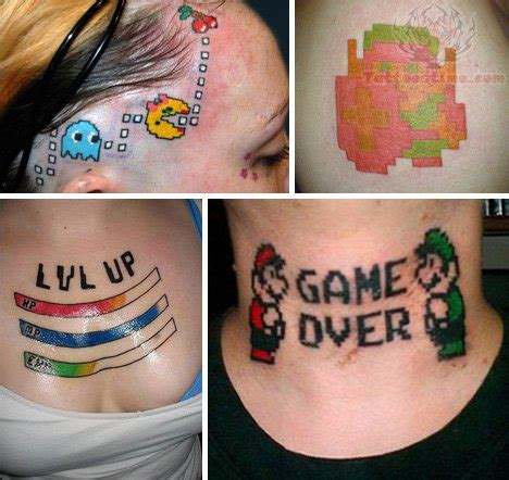 the game tattoos tattoo collections images designs