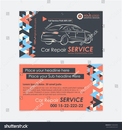 Repairepair Service Card Templates by Gallery Of Automotive Business Cards Business