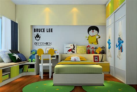 cartoon bedroom wallpaper children s bedroom cartoon decoration for walls 3d house