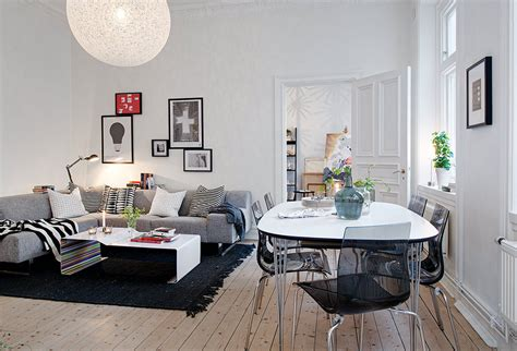 open living room decorating ideas swedish apartment boasts exciting mix of old and new
