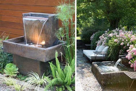 fuente de jard n fuentes de jard 237 n modernas y con estilo 161 viva el verano