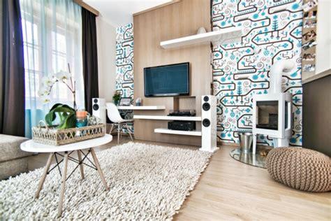 wohnideen wohnzimmer braun gr 252 n