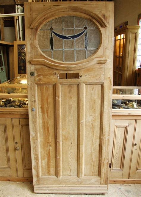 Salvaged Front Doors Salvaged Edwardian Front Door Stained Glass Doors Company