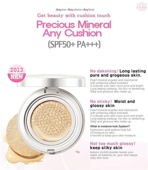 Etude House Precious Mineral Any Cushion Spf50 Pa Original Korea louivery shopping etude house precious mineral any