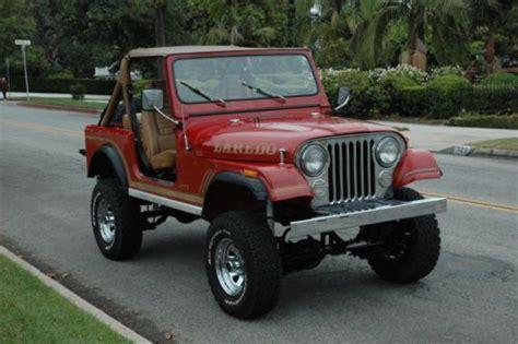 Jeep Cj7 Laredo For Sale Buy Used 1986 Jeep Cj7 Laredo In Glendale California