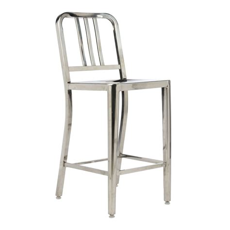 Navy Bar Stool Replica by Co Emporium Emeco Us Navy Bar Stool