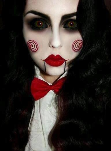 imagenes de halloween para pintar la cara de 500 fotos de maquillaje de carnaval y halloween 2018