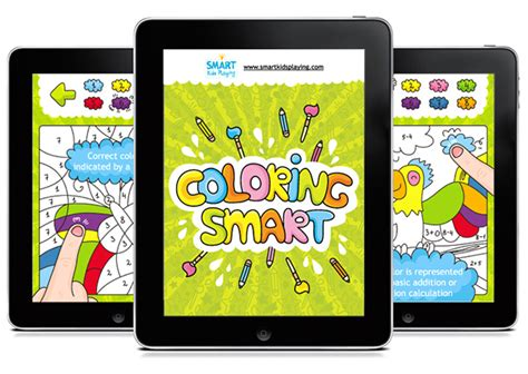 coloring book app project coloring smart on behance