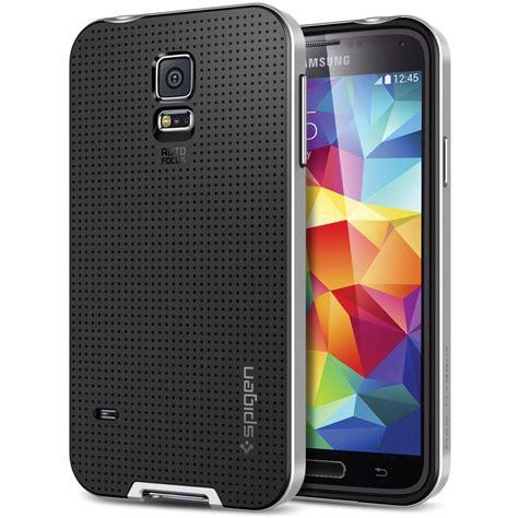 Spigen Samsung S5 Neo Hybrid Satin Silver spigen neo hybrid for samsung galaxy s5 sgp10771 b h