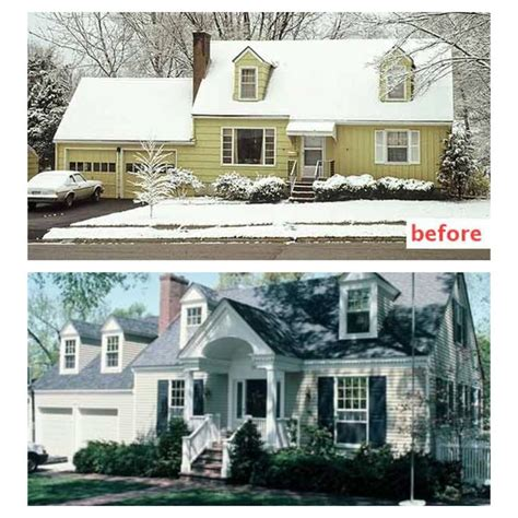 home curb appeal before and after curb appeal before and after front wrap around porch