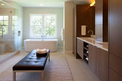 Modern Contemporary Bathrooms by 10 Modern Bathroom Spaces With Cozy Features