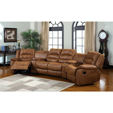 manchester sectional home theatre sofa with built in