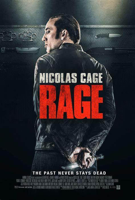 Rage Movie Nicolas Cage Trailer | rage poster heyuguys