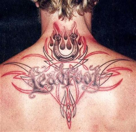 upper back tattoos for men tribal zimbio back tattoos for tribal