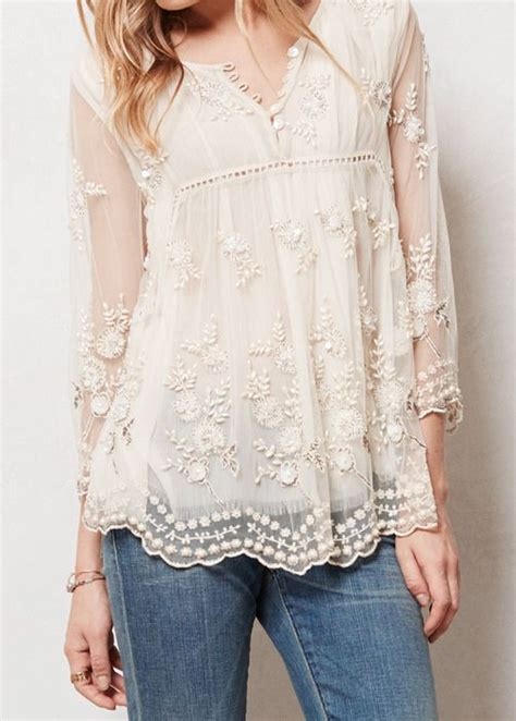 25 best ideas about lace tops on lace shirts peasant tops and style fashion