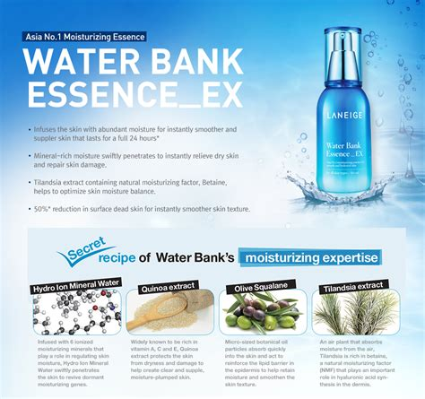 laneige water bank essence ex 10ml buy 1 free 1