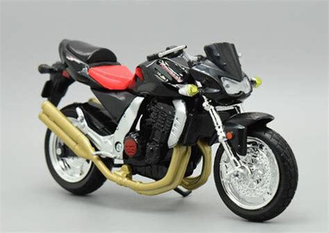 black 1 18 scale maisto diecast kawasaki z1000 model