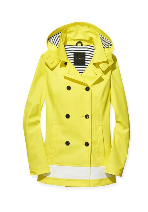 Best Front Door Paint Colors Talbots Classic Hooded Raincoat In Sunray